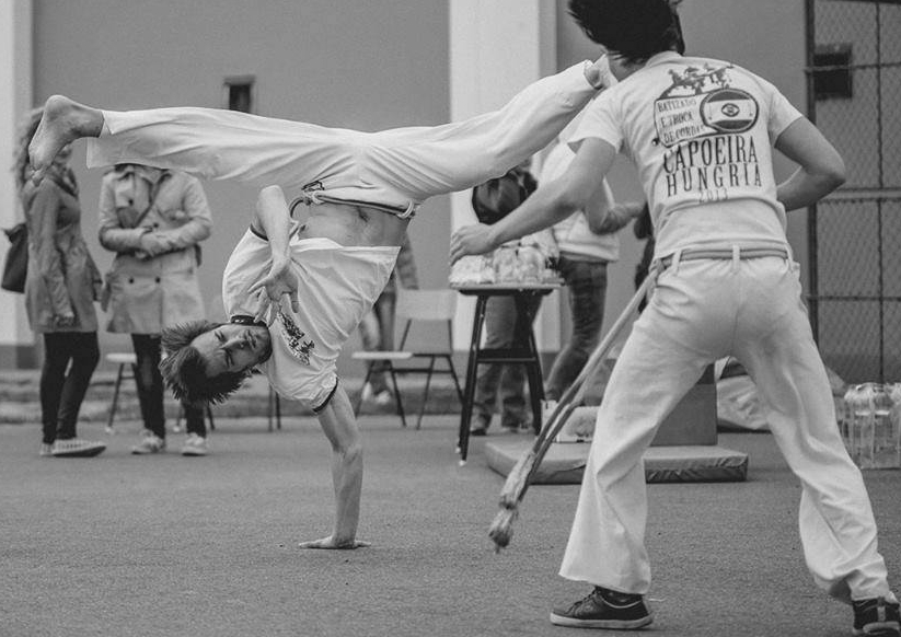 Capoeira Debrecen - Instrutor Cabeludo