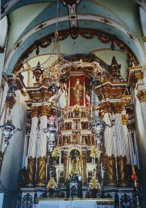 Nosso Senhor do Bonfim Templom - Altar Mor