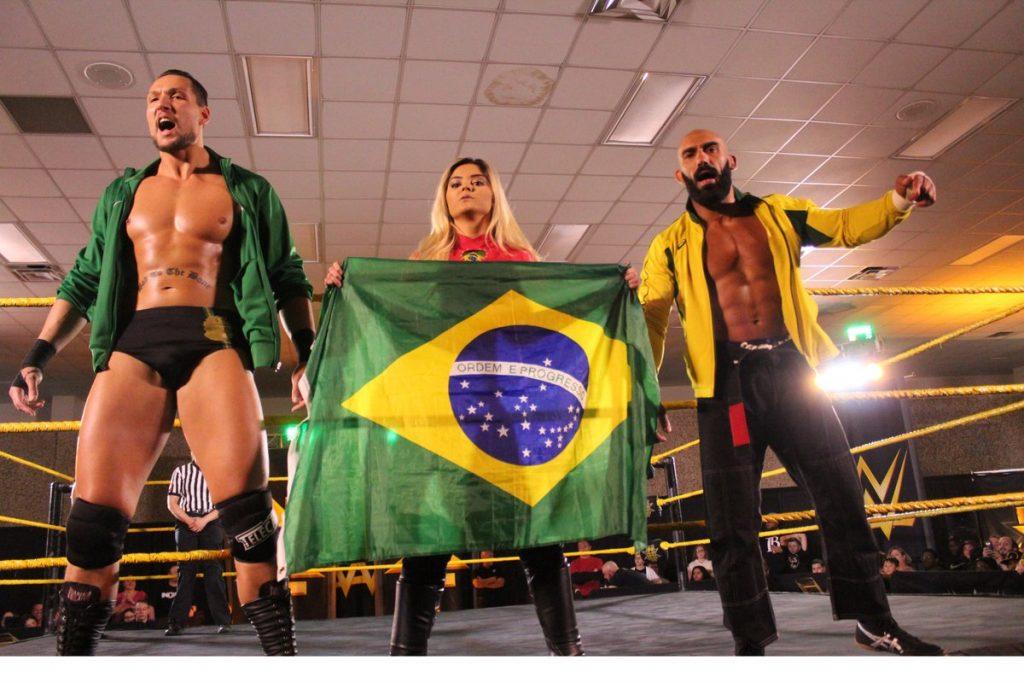 wwe capoeira