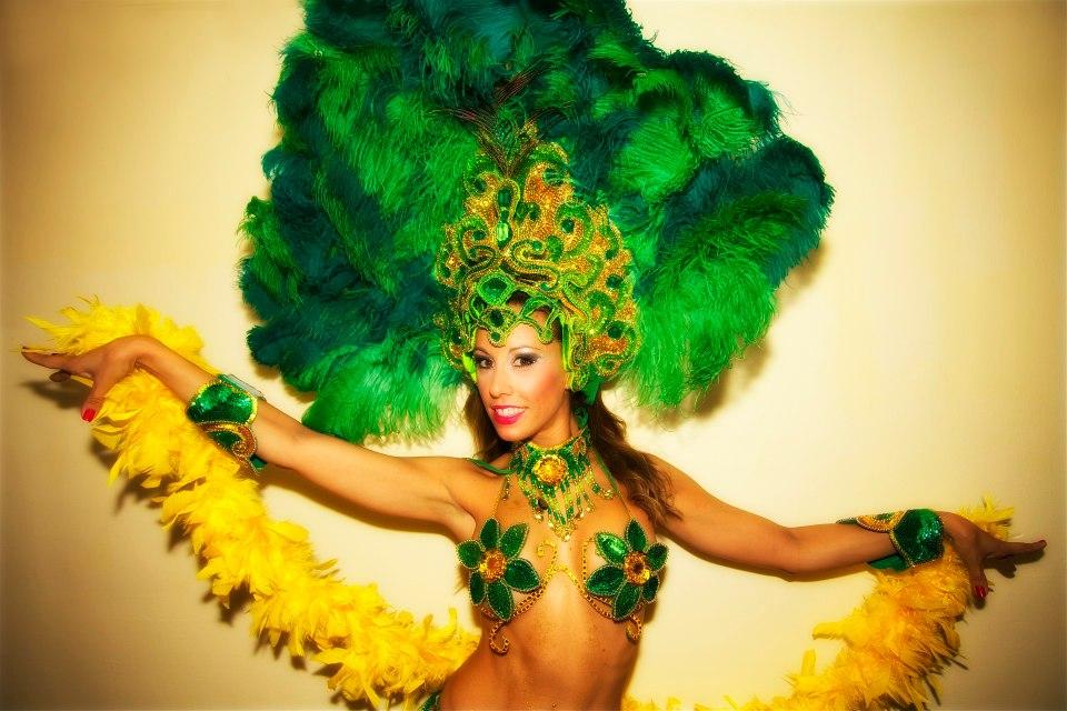 Szamba táncosnő - Sambista