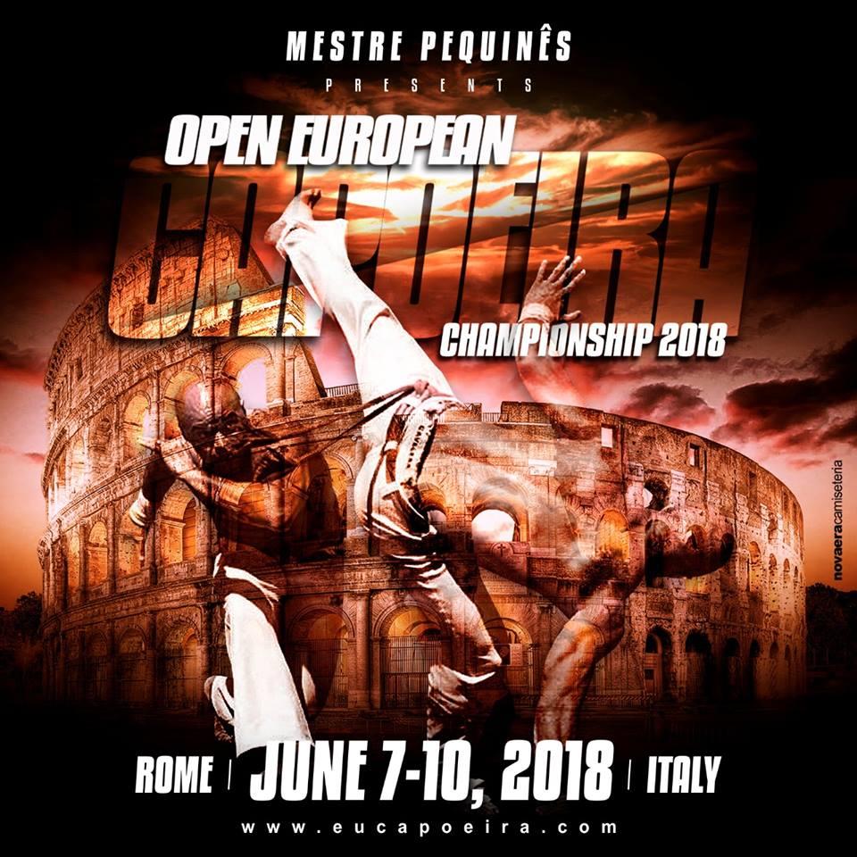 Capoeira Európa Bajnokság 2018