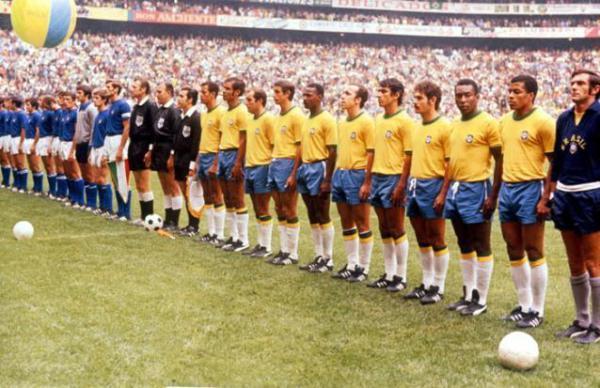 Olaszország - Brazília 1970