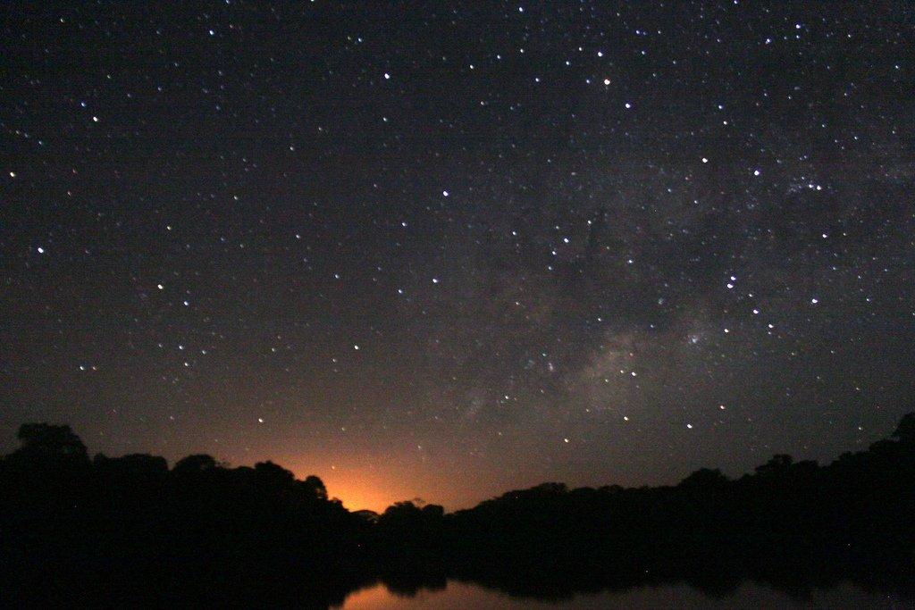 Hogyan Jött az Éj (amazóniai égbolt)