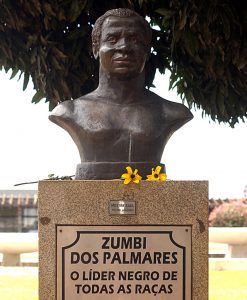Zumbi Dos Palmares szobor